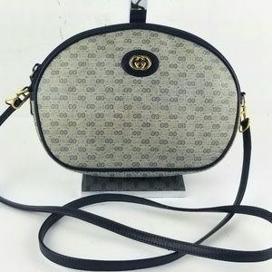 Vintage Gucci Shoulder GG Crossbody Bag Purse
